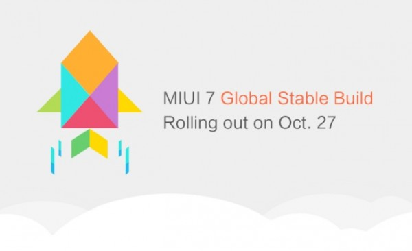 Xiaomi MIUI 7 stable released