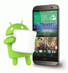 HTC released Android 6.0 Marshmallow for HTC One M8
