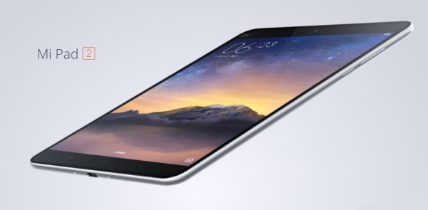 Xiaomi announced the Mi Pad 2 in Beijing