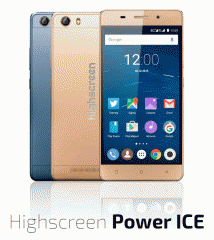 Highscreen officially launched the Power Ice smartphone