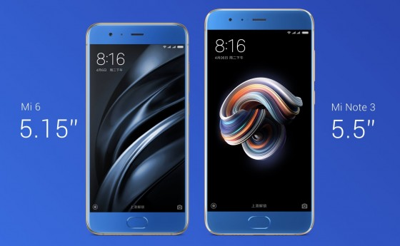 Xiaomi unveiled the Mi Note 3 in Beijing