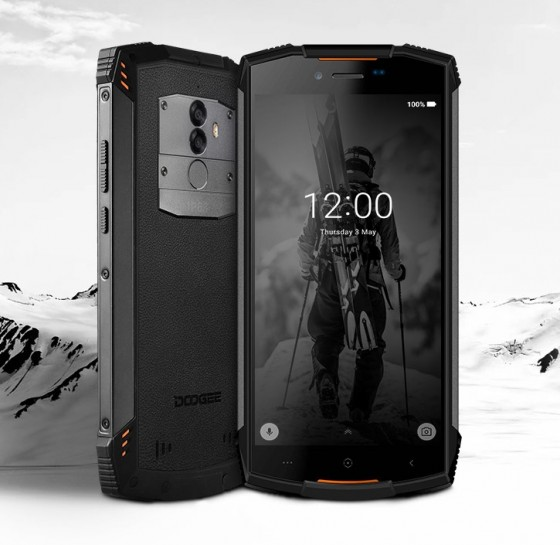 Doogee has released the rugged S55 phone