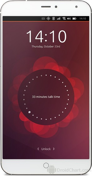 Meizu MX4 Ubuntu Edition / MX4U