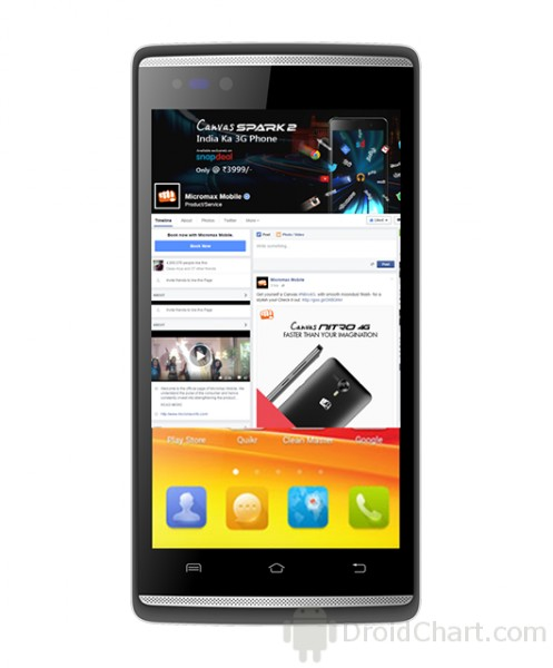Micromax Canvas Fire 4G / Q411